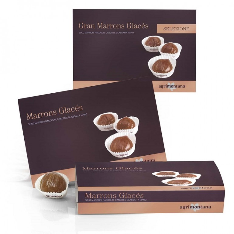 Marrons Glacé in ramekin -...