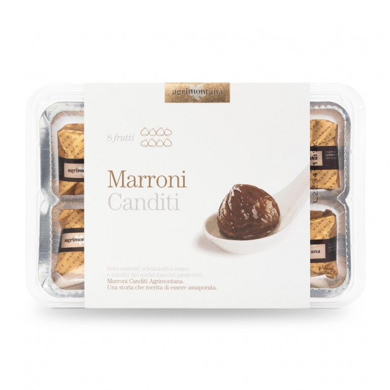 Candied Marrons case with 8...