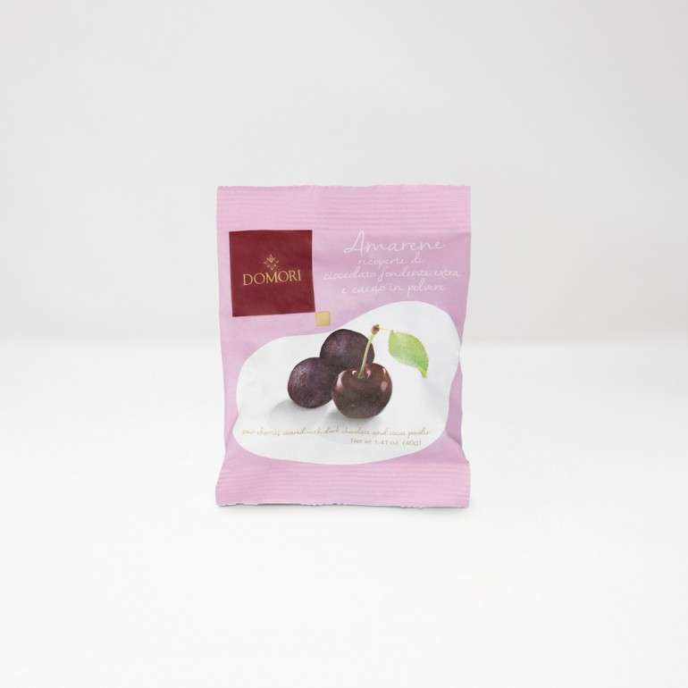 Coated Sour Cherries 40g