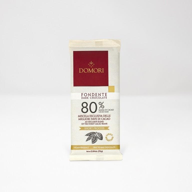 Dark Chocolate Bar 80% - 75g