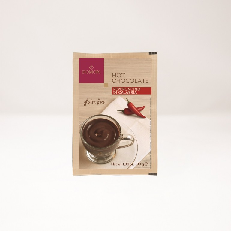 Hot chocolate powder with...