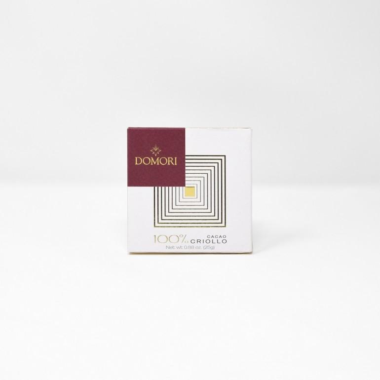 Tavoletta Criollo 100% - 25g